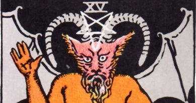"""The Devil ความหมายอย่างละเอียด """"้กับดัก หลุมพราง อันมืดมิด"""""""